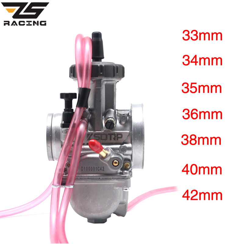 ZS Racing High Quality PWK 33 34 35 36 38 40 42 ZSDTRP Carburetor Air Striker