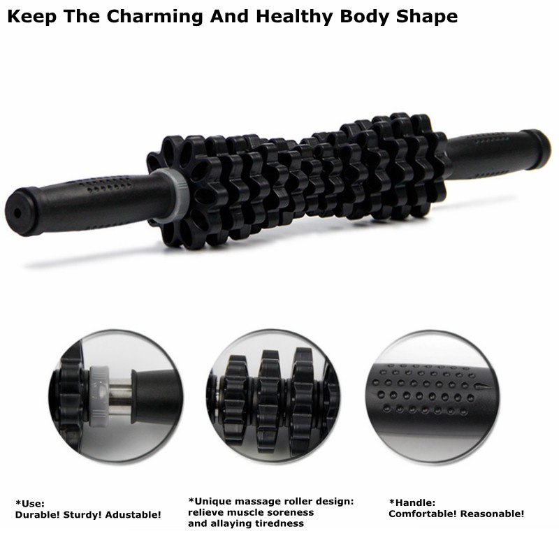 Adjustable Muscle Massage Roller Stick 14