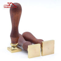 Sealing Wax Stamp With Blank Square Stamp Wax Custom Made Stamp For Special DIY Wedding Invitation