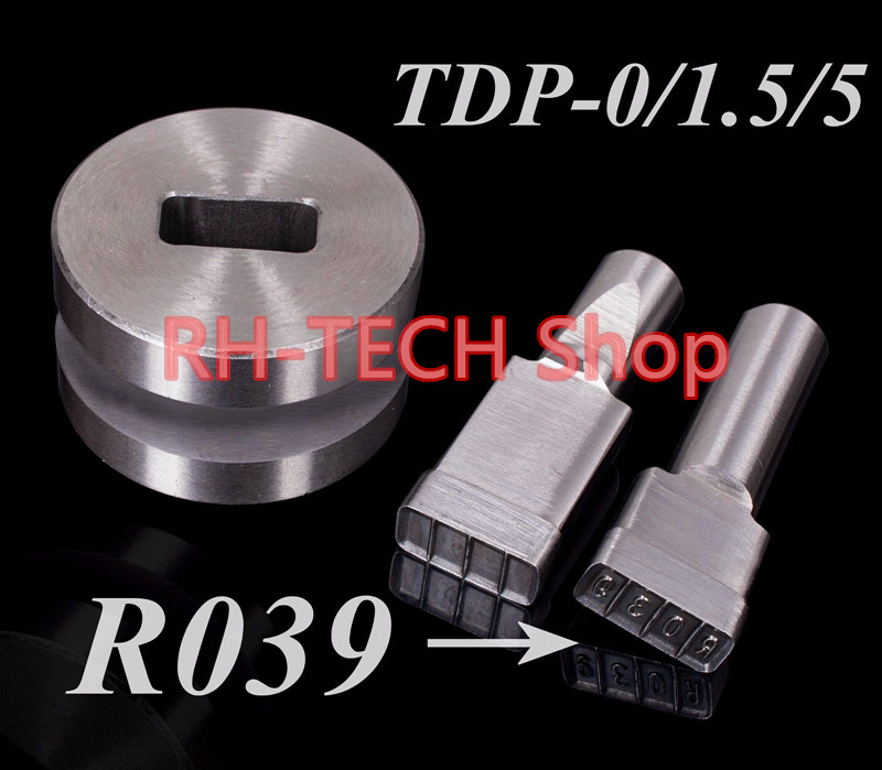 R039 Mold/die / Punch For Tablet Press Machine TDP 0 /1.5