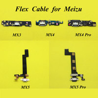5 Models Dock Connector Spare Parts Charge Charging Port USB Flex Cable For MEIZU MX3 MX4