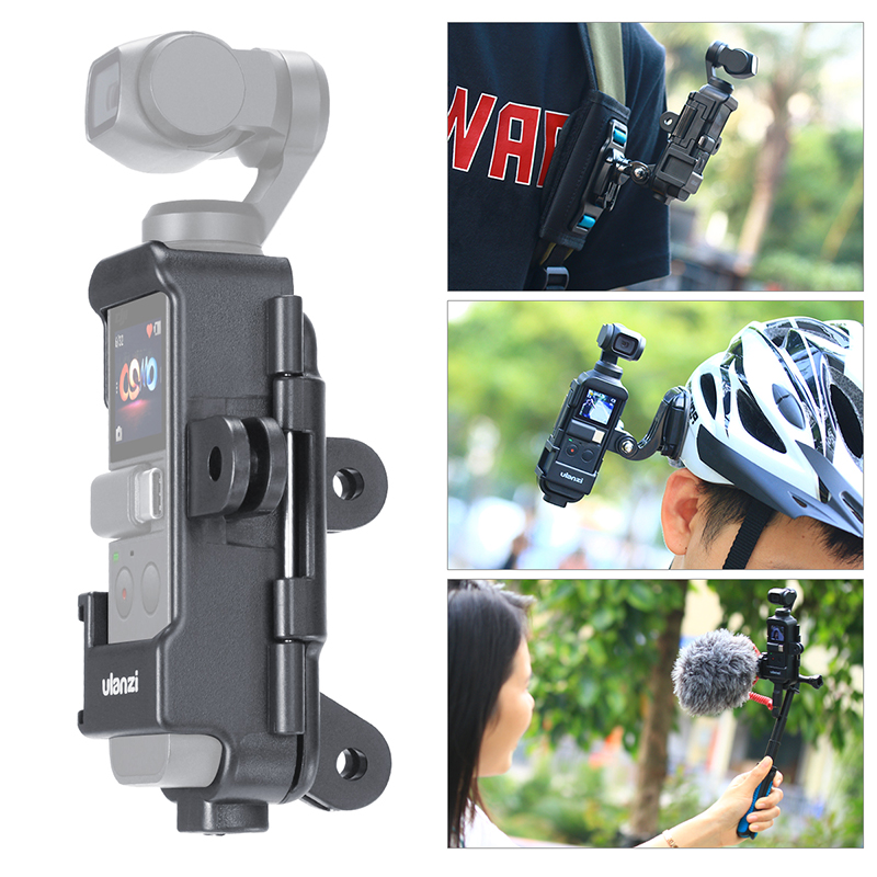 Ulanzi OP 7 Osmo Pocket Vlog Case Housing Extend Mount Adapter with 1/4 Screw Cold Shoe for Microphone LED Light-in Gimbal Accessories from Consumer Electronics on Aliexpress.com | Alibaba Group