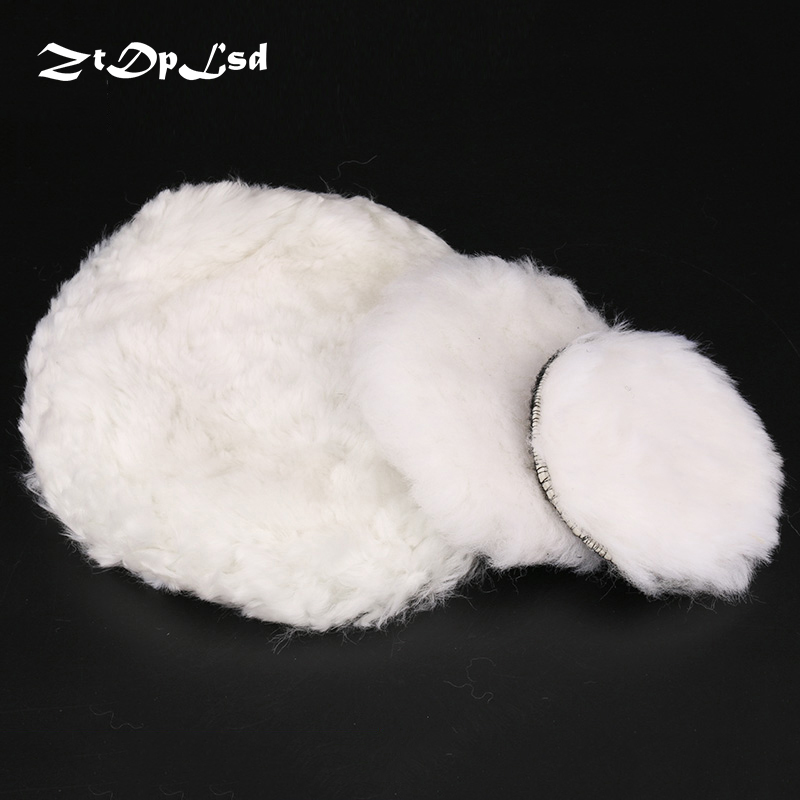 ZtDpLsd 1Pcs White Wool 4