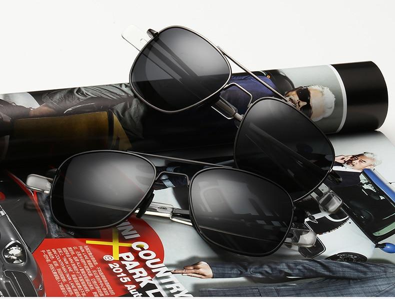 76c967da76834 JackJad Homens Moda MILITAR Do Exército Estilo Aviador Óculos Polarizados  Condução Óculos de Sol de Design Da Marca Óculos De Sol Oculos De Sol  Masculino em ...