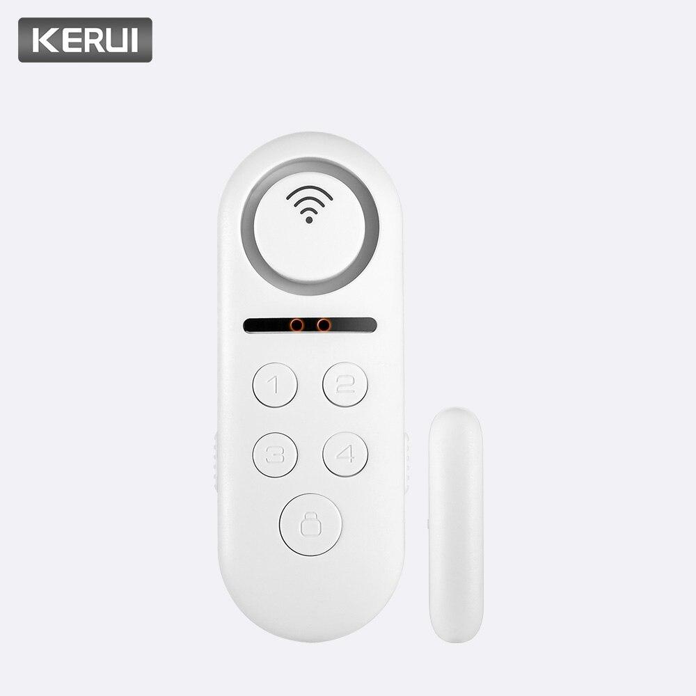 1 teile/los 120dB Wifi Drahtlose Tür Fenster Magnetische Sensor Türklingel Willkommen Alarm System Fernbedienung Home Security Detektor