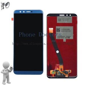 Image 2 - フル Lcd ディスプレイ + タッチスクリーンデジタイザのためのフレームと Huawei 社の名誉 9 Lite/名誉 9 青年版 LLD L31