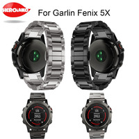 High Quality Metal Watch Bands Strap 26mm Titanium Steel Bracelet Wrist Strap WatchBand Smart Watch Band