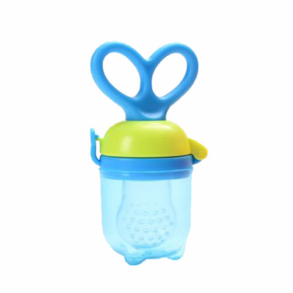 Cute Silicone Baby Pacifier Feeding Fruit Food Safe Nipple Infant Soother Toddler Teether Bite Bag