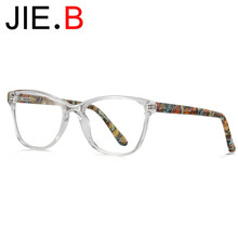 New acetate glasses frame ladies optical myopia
