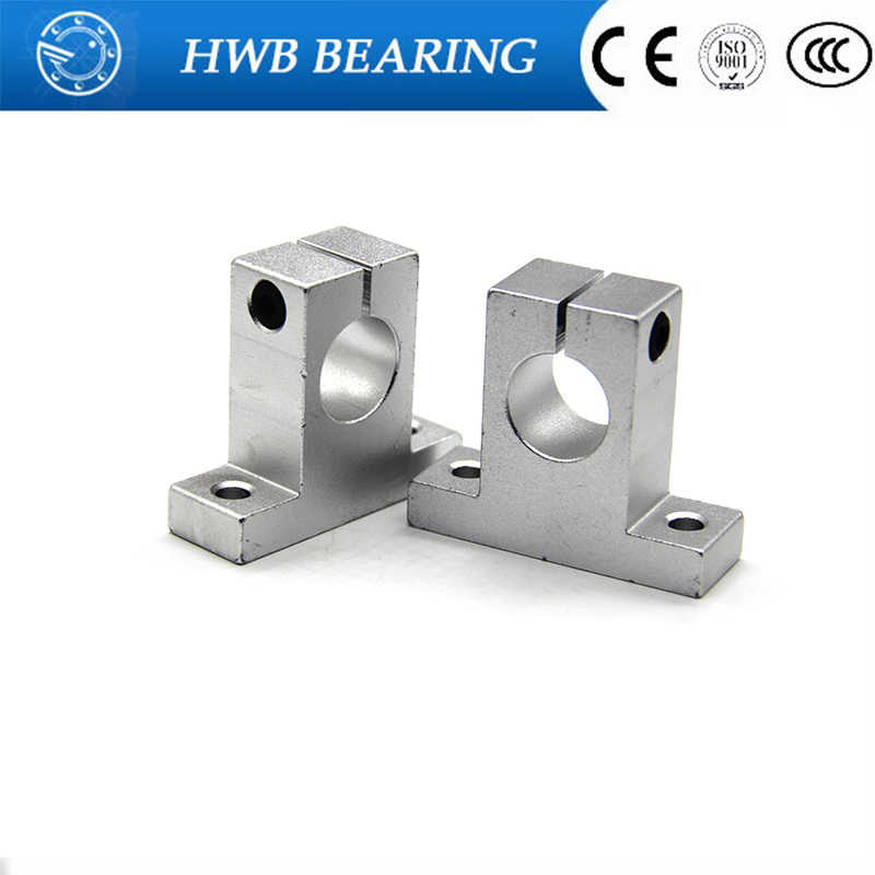 1pc SK8 SK10 SK12 SK16 SK20 SK25 SH8A 8mm Linear Ball Bearing Rail Shaft Side Blocks Support Table CNC 3D Printer Part