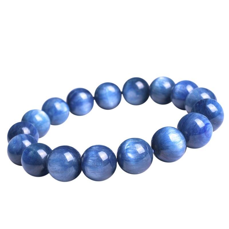 Bijoux en cristal de mode Bracelet en cristal bleu naturel