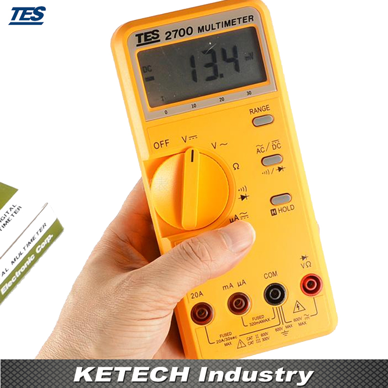 LCR Multimeter 3200 Count LCD with Analog Bar-graph TES2700 LCR Multimeter 3200 Count LCD with Analog Bar-graph TES2700