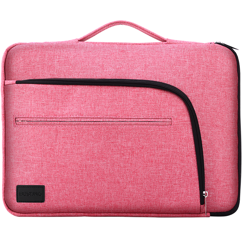 Bestjing Men Women Portable Laptop Bag Case 11-15.6 Inch Notebook Handbag Soft Sleeve For Mackbook Pro Air Surface Book