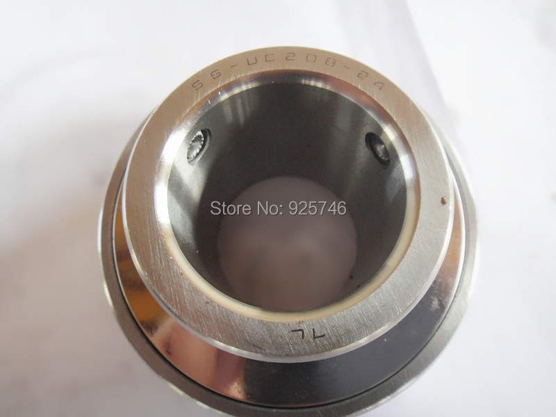 suc208-24  Stainless Steel Shielded Miniature Ball Bearings size:38.1*80*49.2mmsuc208-24  Stainless Steel Shielded Miniature Ball Bearings size:38.1*80*49.2mm