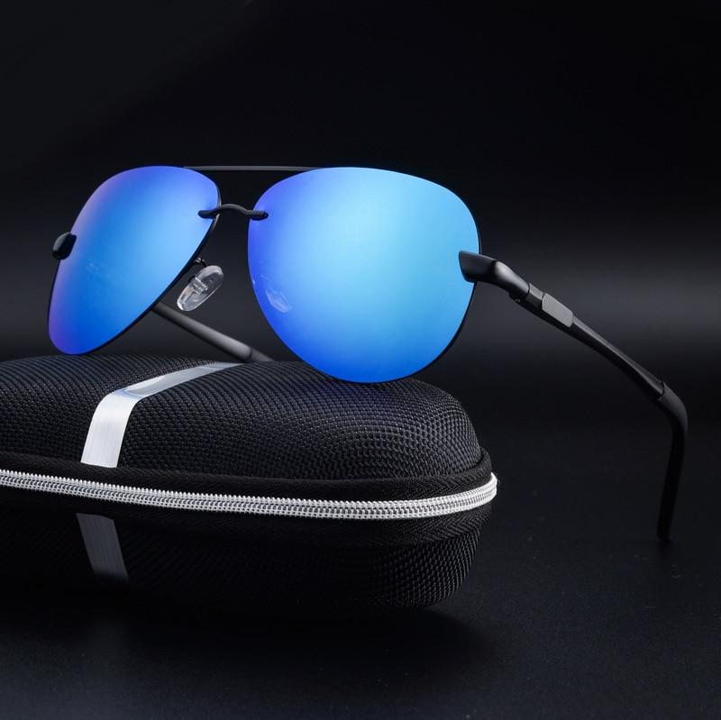 2017 Rimless Polarized Sunglasses Տղամարդկանց բրենդի - Հագուստի պարագաներ - Լուսանկար 3