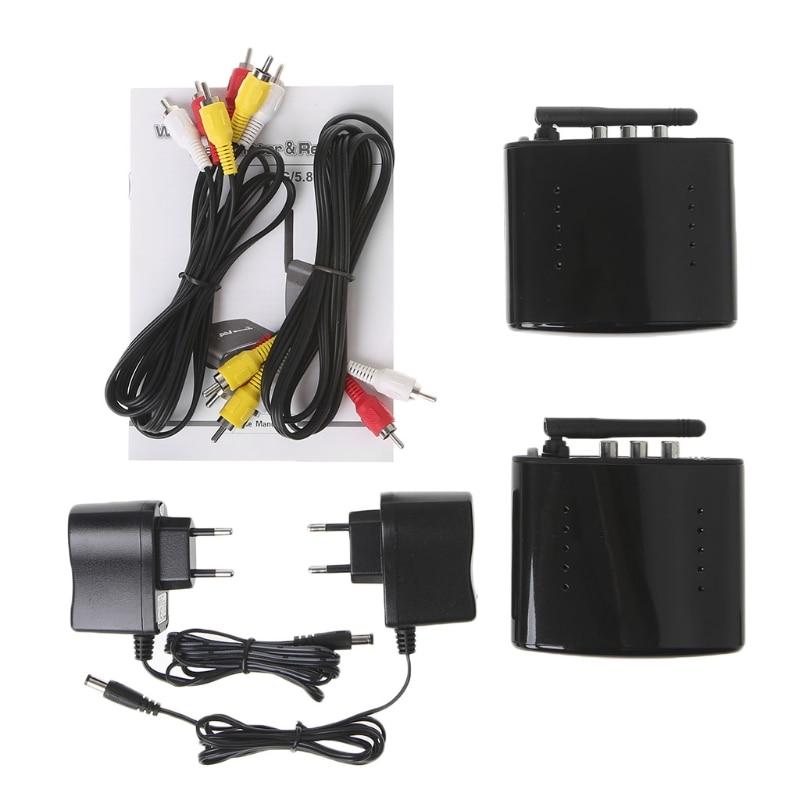 1 PC 2.4GHz Wireless AV Sender TV Audio Video Transmitter Receiver PAT-330 New- Free Shipping free shipping boscam thunderbolt2000 2000mw 5 8ghz video av audio video transmitter sender fpv