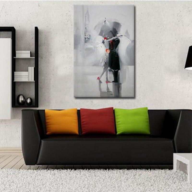Οι λάτρεις στη βροχή Ρομαντικό - Διακόσμηση σπιτιού - Φωτογραφία 3