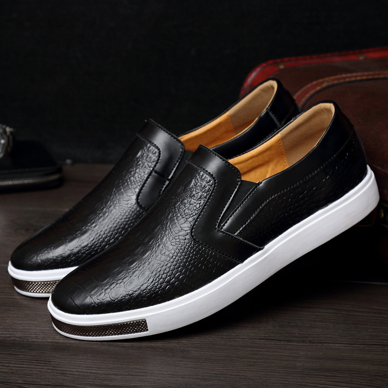 Genuine Leather Men Shoes Fashion Casual Shoes Breathable Men Flats Loafers Mens Driving Shoes