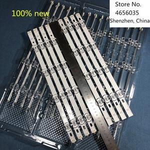 Image 4 - 8 PCS/set 100% NEW LED backlight strip bar perfect compatible for LG 39 Inch TV 39LB561V 39LB5800 innotek DRT 3.0 39 inch A B