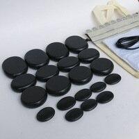 Best Selling 20pcs Set Hot Stone Massage Body Massage Stone Set Salon SPA With Heater Bag
