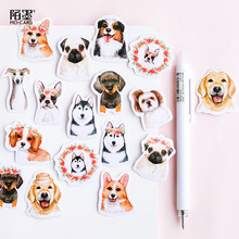 AAGU 46PCS/Lot Dog Adhesive/Christmas/Halloween Stickers Scrapbooking Bullet Journal Sticker Decorative Stickers Cartoon Sticker