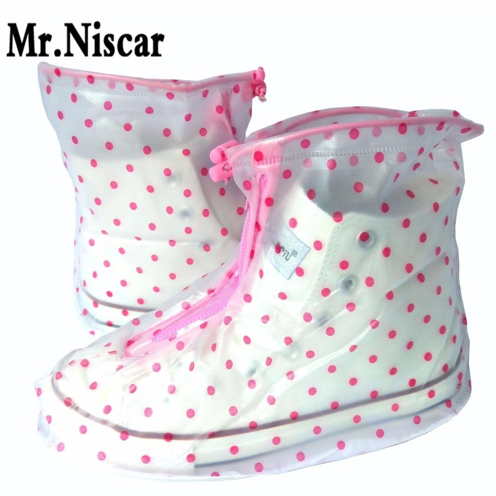 Polka Dot veekindel kinga kaaned Naiste tihe libisemiskindel kinga kate Lame pealiskingad korduvkasutamiseks üle jalatsite