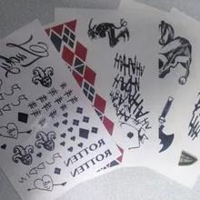 Wyprzedaż Joker Tattoo Suicide Squad Kupuj W Niskich