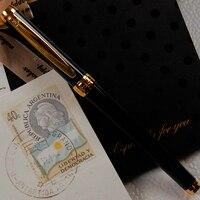 Dış Ticaret Tek Metal Kalem Mürekkep Kalem Öğrenci Uygulama Kaligrafi Kalem M Ucu Yüksek Iraurita Kalem G1008 Özel Promosyon