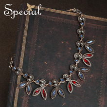Special Brand Fashion European Style Necklaces & Pendants Ctystal Star Maxi Necklace Jewelry Gifts for Women S1714N
