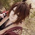 Hakuouki Okita Souji Short Brown Cosplay Wig