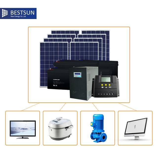 bfs2000whb diy solar panel kit house 2000w offgrid solar system