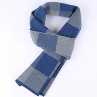 Wool Plaid Scarf Man Winter Brand Scarf Men Fashion Designer Shawl Bussiness Casual Scarves LD049