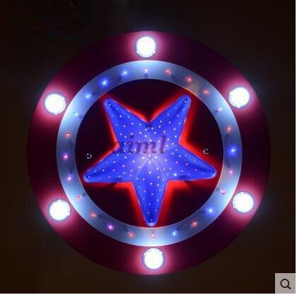 High quality LED 21W 30W America captain creative cartoon male girl eye children room bedroom Children room light 110 240v in Ceiling Lights from Lights Lighting