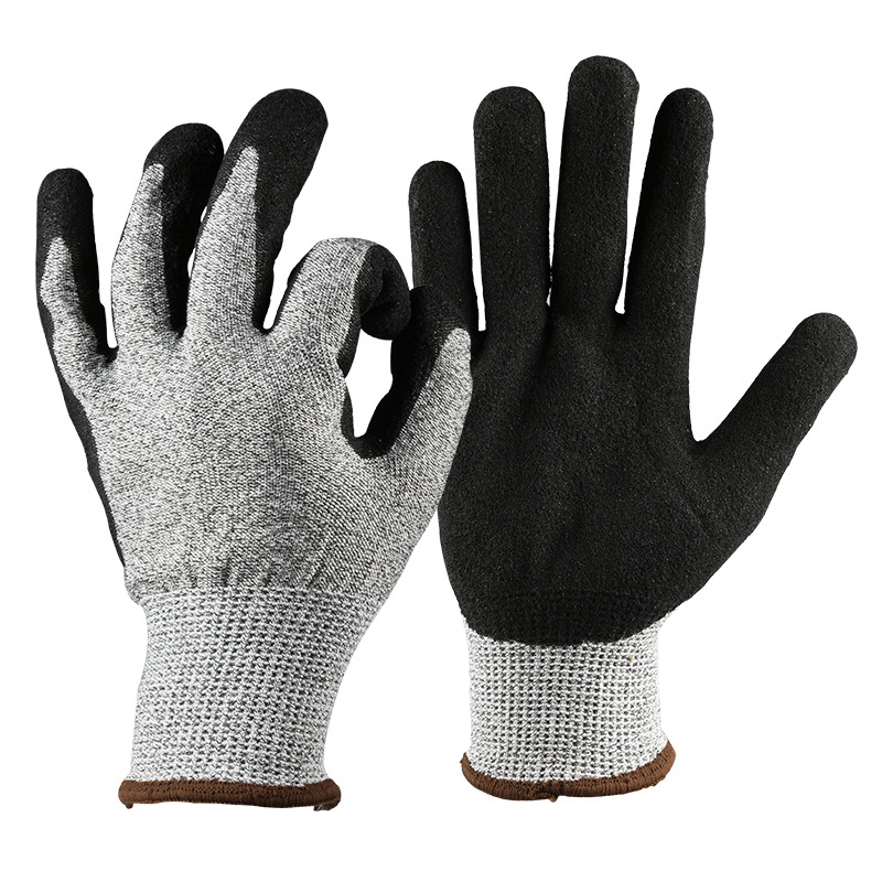 Anti-cut gloves Professional Level 5 Cut resistant Non-slip Safety Working Gloves For Home Garden Kitchen Multi-functional Glove lb102 316l stainless steel wire mesh cut proof resistant chain mail protective glove for working safety level 5 protection