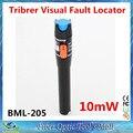 Tribrer 10mW Pen Type Visual Fault Locator VFL Red Laser Light Fiber Optic Cable Tester Optical Fiber Laser Pointer