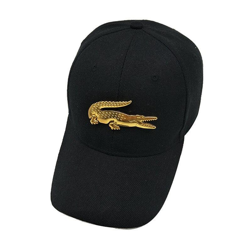 Prix pour LDSLYJR 2017 coton Métal crocodile casquette de baseball snapback cap hip-hop chapeaux pour hommes et femmes 856