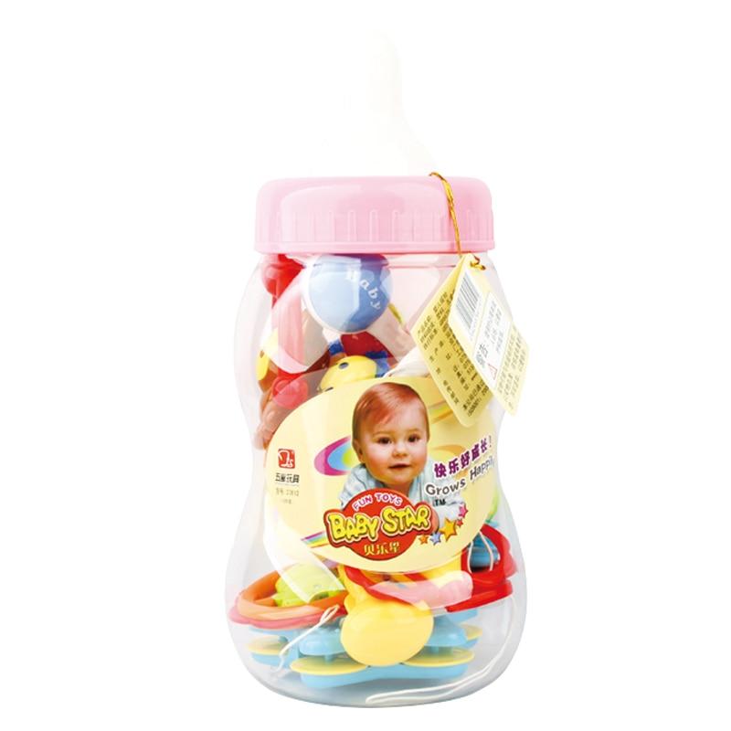 12PCS մանկական խաղալիքներ 0-12 ամիս ձեռքի - Խաղալիքներ նորածինների համար - Լուսանկար 2