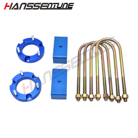 HANSSENTUNE 4x4 Accesorios 32mm Leveling Lift Kit 2.5 Front Lift spacers and 2 Rear Lift block For RANGER/BT50 T6 2012+