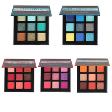 Beauty Glazed Original 9 Colors Eye shadow Makeup Eyeshadow Pallete Matte Shimmer Eyeshaow Palette Nude Glitter Cosmetics