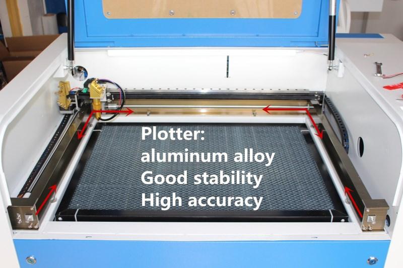 Co2 laser CNC 4060 laser gravur cutter kennzeichnung maschine mini laser engraver cnc router laser kopf diy