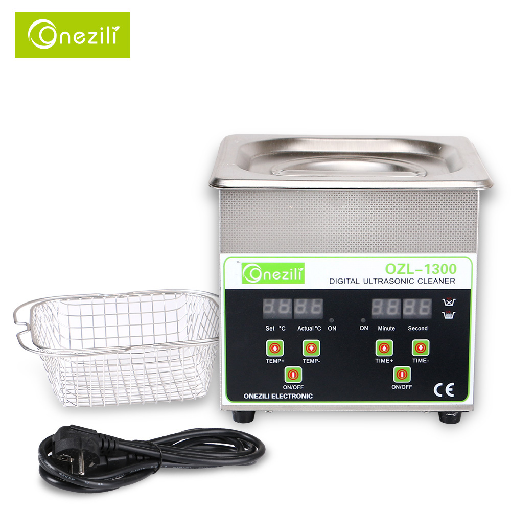 Professional Ultrasonic Jewelry Cleaner with Digital Timer Heated Ultrasonic Cleaner for Eyeglasses, Rings, Coins ce 5200a professional digital ultrasonic jewelry