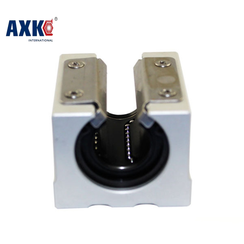 2018 New Arrival AXK Cnc Router Parts Linear Rail Axk Free Shipping Sbr20uu 20mm Linear Ball Bearing Block Cnc Router Sbr20