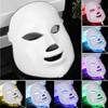 Beauty 7Colors Light Photon Electric LED Facial Mask PDT Skin Rejuvenation Wrinkle Removal Electric Device Anti
