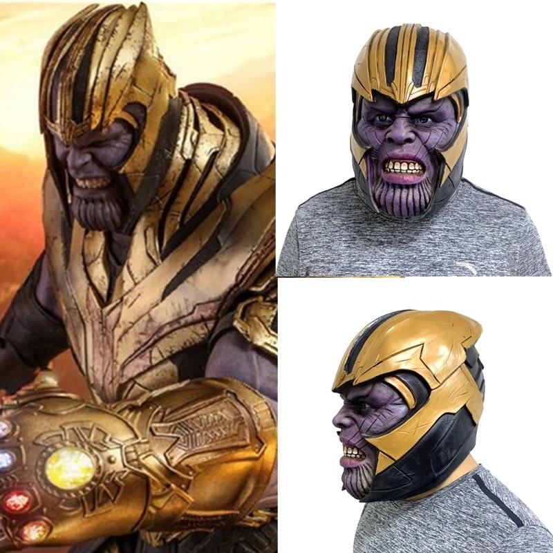 2019 Avengers 4 Endgame Mask Thanos Mask Cosplay Superhero Thanos Mask Latex New
