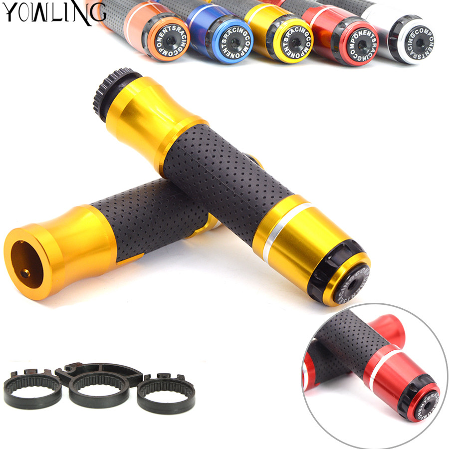motorcycle handlebar grips & handle bar ends 7/822mm cap For Yamaha TMAX 500 TMAX 530 T-MAX500 T-MAX530 T MAX 500 530 R1 R3 R25