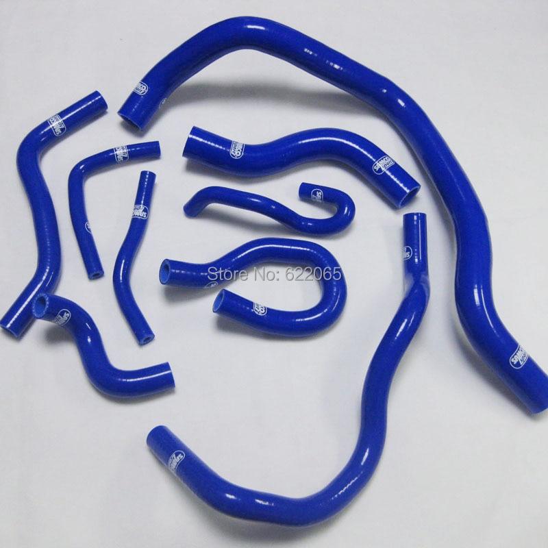 Performance Radiator Silicone Coolant Hose  Kits  Fit For Honda CIVIC  D15/16 EG / EK silicone hose kits K8 1992-2000 BLUE for honda cbr1000rr 2004 2005 2006 2007 silicone radiator coolant hose kit colors red blue black