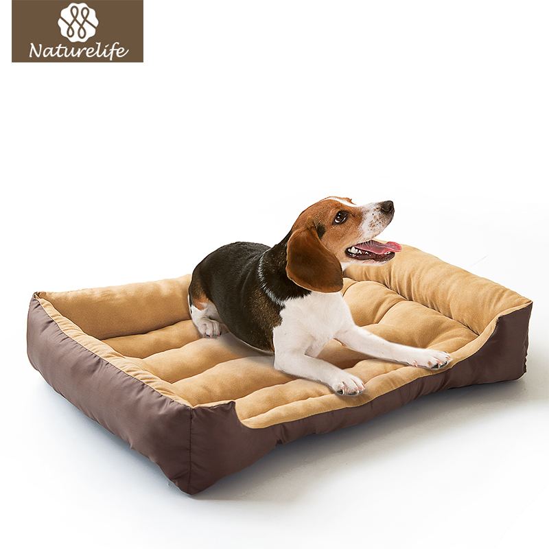 Warming Dog Bed Pet House Soft Suede Pet Nest Dog Fall and Winter Warm Nest Kennel For Cat Puppy Plus size Drop shipping