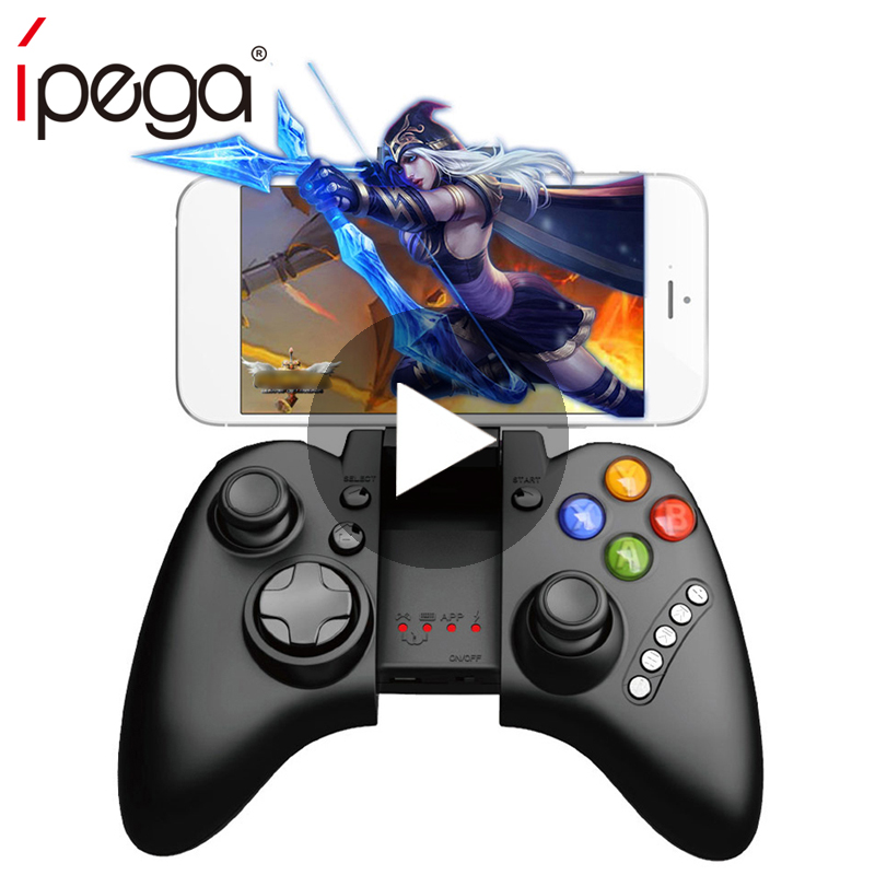 iPega Bluetooth Joystick For Android Phone Mobile PC Smartphone Controller Computer Gamepad Game Pad Trigger Pabg