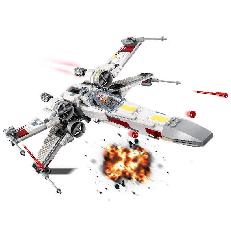 Star Wars Series X-Wing Starfighter Compatible Legoing 75218 Building Educational Toys Model DIY Blocks Bricks new 1685pcs lepin 05036 1685pcs star series tie building fighter educational blocks bricks toys compatible with 75095 wars