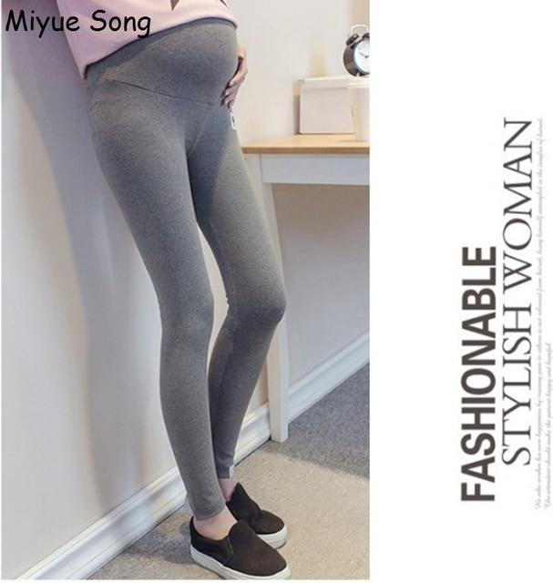 daefe9518 Lindo gato Maternidad Leggings para las mujeres embarazadas ajustable  Pantalones ropa Premama algodón embarazo ropa